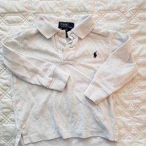 Polo Ralph Lauren, long sleeve polo, 2t